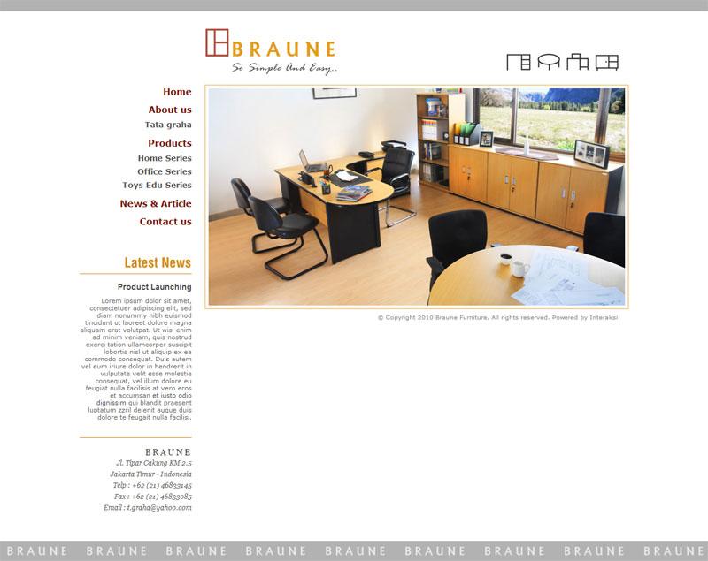 braune furniture indonesia web design agency indonesia web development kelapa gading jakarta. Black Bedroom Furniture Sets. Home Design Ideas