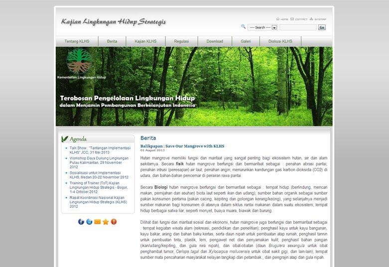Kajian Lingkungan Hidup Strategis