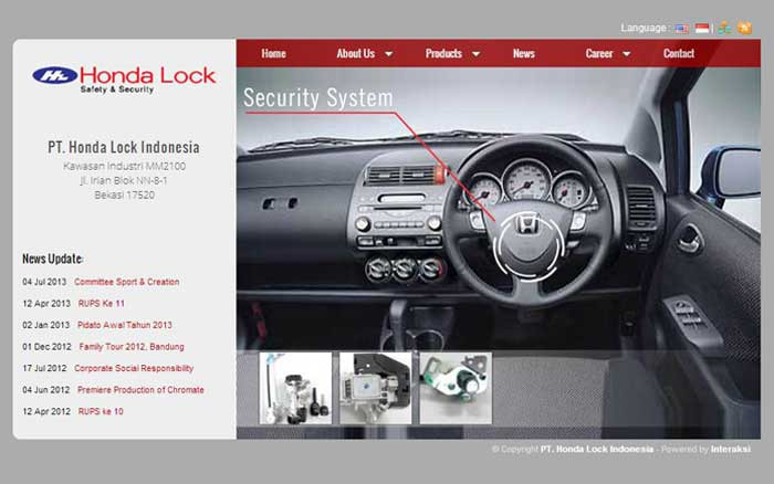 Honda Lock Indonesia