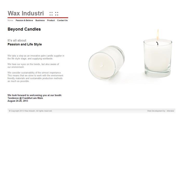 Wax Industri Nusantara
