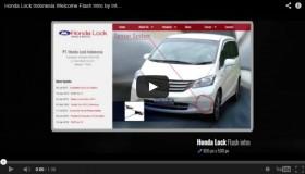 Honda Lock Indonesia Welcome Flash Intro by Interaksi.co.id