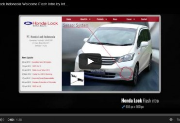 Honda Lock Indonesia Welcome Flash Intro by Interaksi.co.id