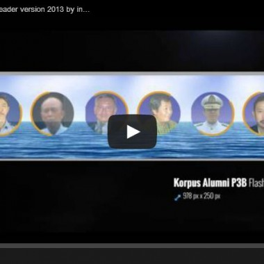Korps Alumni P3B FlashHeader version 2013 by interaksi.co.id