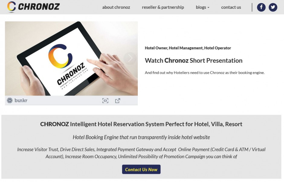 Ichronoz intelligent hotel reservation system hotel for Design hotel booking system