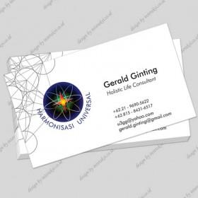 Holistic Consultant Name Card