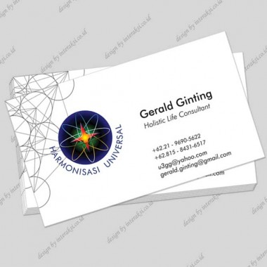 Holistic Consultant Name Card