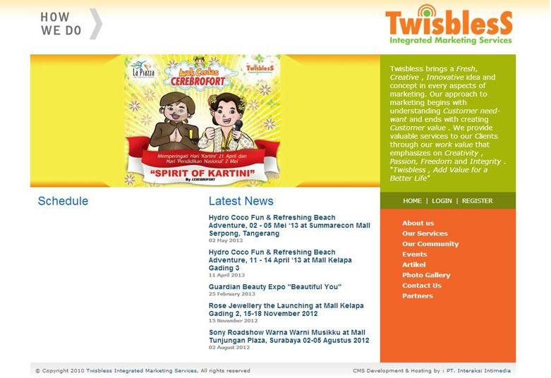 Twisbless
