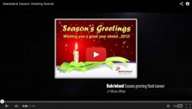Bakrieland Season Greeting Banner
