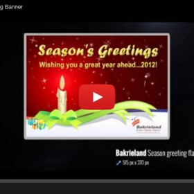 Bakrieland Season Greeting Banner