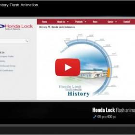 Honda Lock Indonesia – History Flash Animation