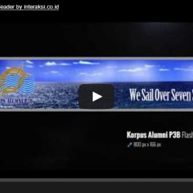 Korps Alumni P3B Flash Header by interaksi.co.id