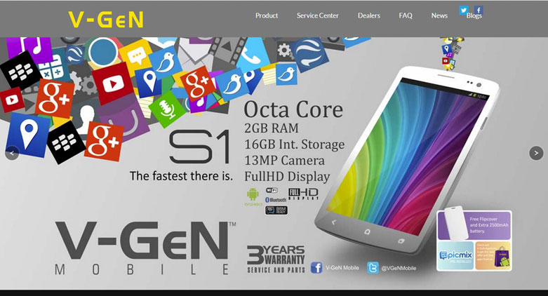 V Gen Smartphone & Memory